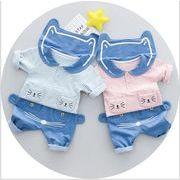 子供服 2018 春 新しい 子供服 子供 女の子 かわいい 赤ちゃん ラペル 綿 韓国 スイートメーカー