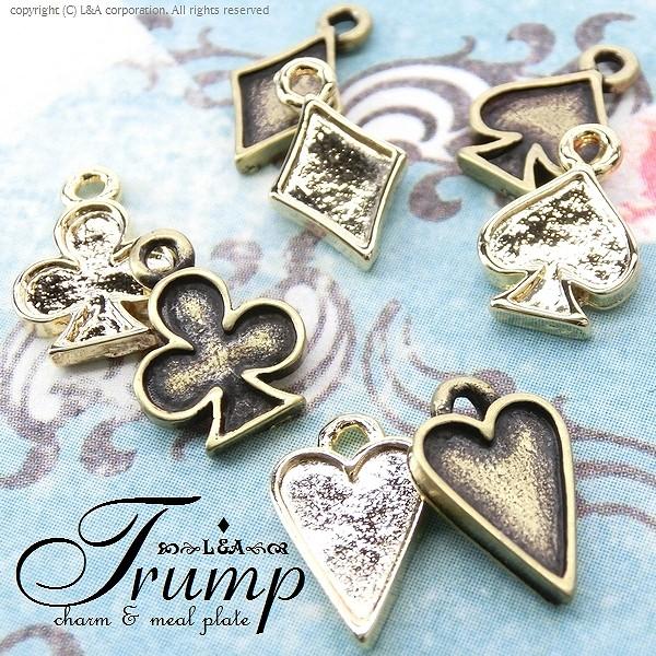 """★L&A Original Parts★K16GP&金古美★トランプ◆チャーム&ミール皿◆142""""Trump"""""""