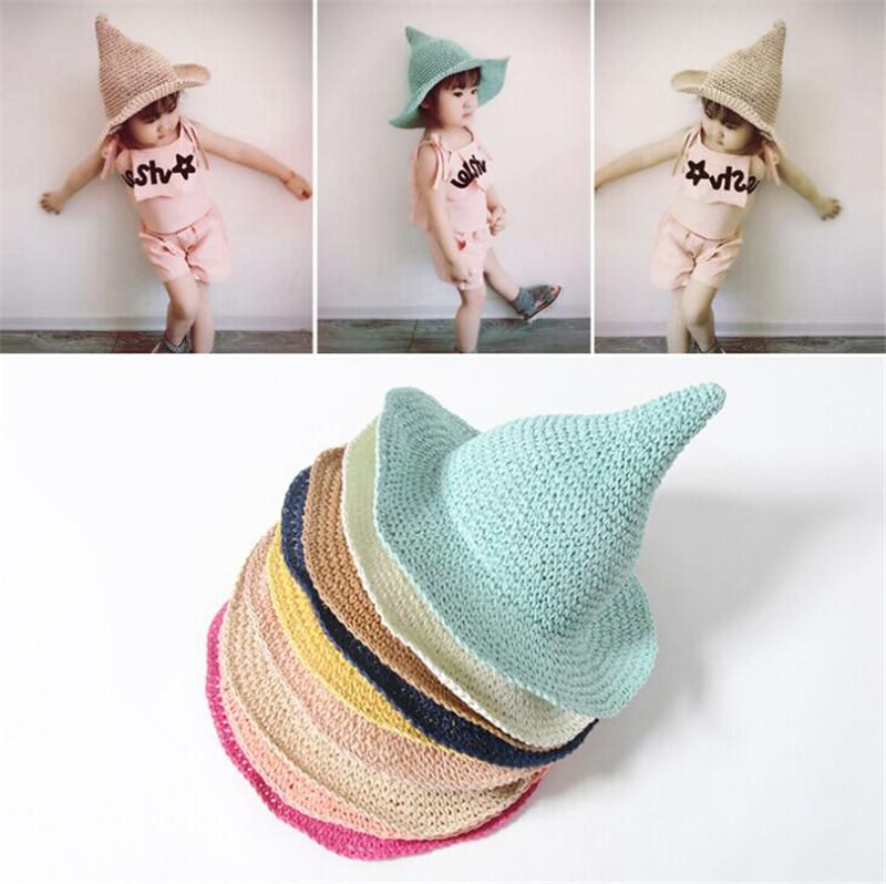 ★新作★ 麦わら帽子 日除け帽 子供 UVカット 麦わらハット 帽子 キッズ 可愛い