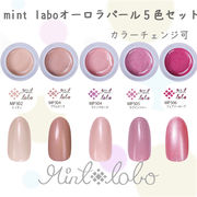 mint-laboオーロラパール ジェル 5色セット