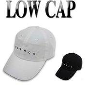 ★春夏新作♪コットンツイル BLANCO 刺繍CAP  16481