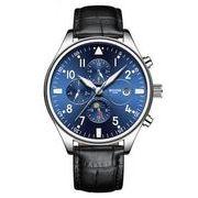 送料無料 BZ メンズ クロノグラフカレンダービジネス 自動巻き 腕時計 b-7