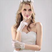 ブライダル ウェディングドレス糸 韓国 ブライダル手 袋