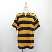 【2018春夏新作】20/-天竺 半袖 BIGラガーシャツ