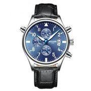 送料無料 bz メンズ クロノグラフ カレンダー腕時計 b-27
