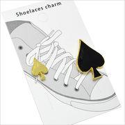 トランプマークの靴ひもチャーム