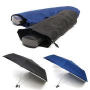 [54cm]薄型軽量 自動開閉式折りたたみ傘 紳士 メンズ
