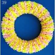 格安!手作り★チアリーダー★応援団★フラダンス衣装★フラワーレイ★造花★花輪★首飾り★サイズ選択