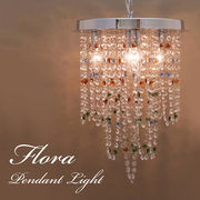 【LED電球対応】4灯ペンダントライト Flora フローラ(リリー)<E12/水雷型>