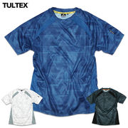 ★サラッとした吸汗速乾生地で着心地抜群★TULTEXタルテックスの通気性に優れるメッシュ切替ドライTシャツ
