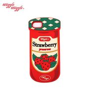 【Wiggle Wiggle 正規品】 [iPhone8対応] iPhone7 6S 6 シリコンケース (strawberry jam) ストロベリー