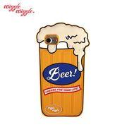 【Wiggle Wiggle 正規品】 [iPhone8対応] iPhone7 6S 6 シリコンケース (Beer) ビール