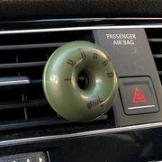 車用エアコンルーバー取り付け芳香剤 IKOKKA プラチナシャワー
