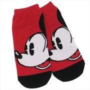 《ファッション》ミッキーマウス レディースソックス/カオカオ