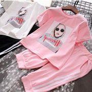 新入荷!!キッズファッション★★キッズセット★シャツ+パンツ
