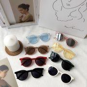 韓国風 学生 何でも似合う アンティーク調 サン ミラー 個性 ラウンド 眼鏡 丸い 形