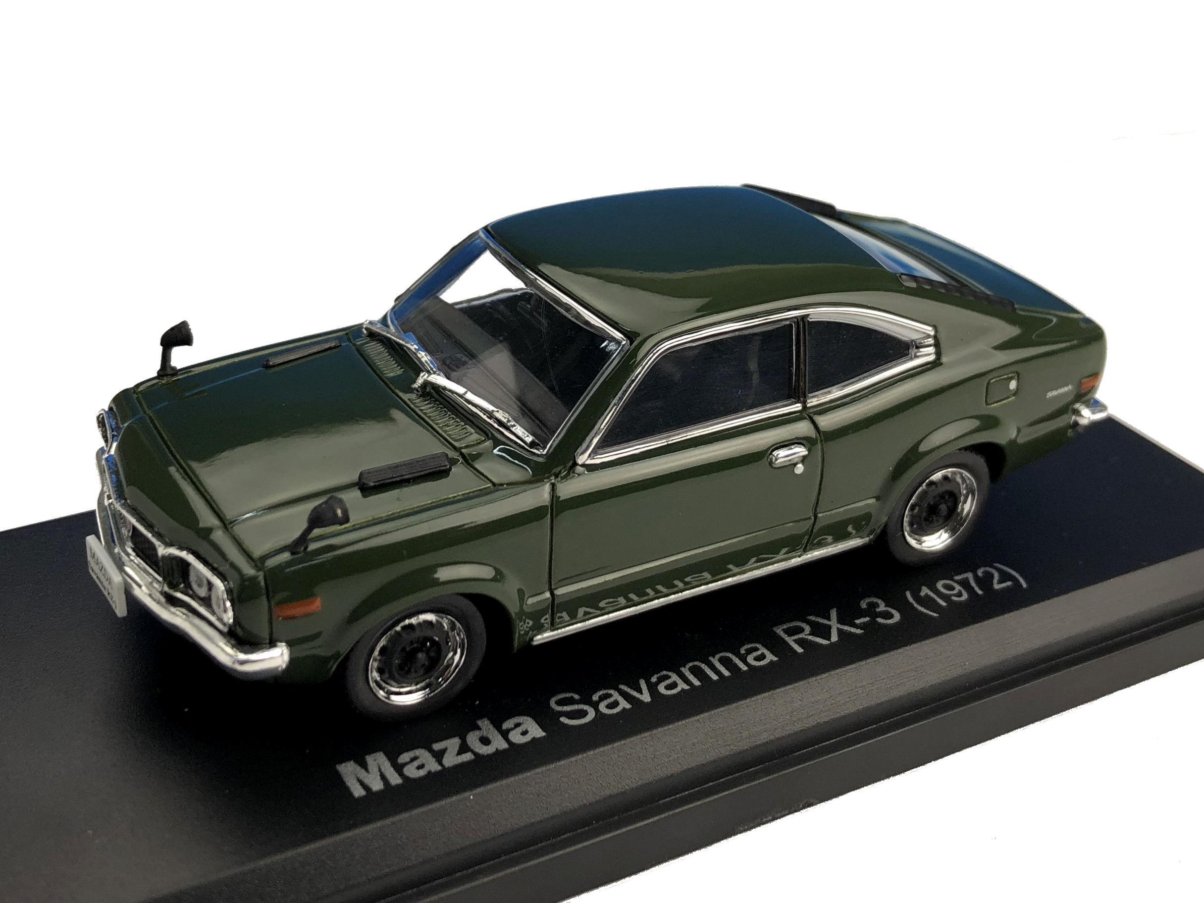 NOREV/ノレブ MAZDA SAVANNA RX-3 COUPE 1972年 ダークグリーン