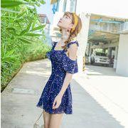 水着 2019新作 大人気 ワンピース オシャレ 温泉 連体式 ファッション ガールズ 韓国