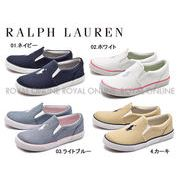 【ポロ ラルフローレン】 RF100663 バルハーバー 2 スニーカー 靴 シューズ 全4色 キッズ ジュニア