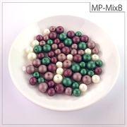 マットパールトライアル[MixB] お試しパック rikiビーズ つや消し アクリルビーズ