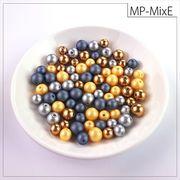 マットパールトライアル[MixE] お試しパック rikiビーズ つや消し アクリルビーズ