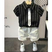 ★新品★キッズファッション★男の子セットアップ★2点(ベルト付き) サイズ90cm-130cm