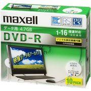 マクセル データ用DVD-Rテレパソ用【10枚入】 DRD47WPD.10S 00021445