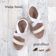 2018夏新作 セット販売 レディース 靴 ウェッジサンダル