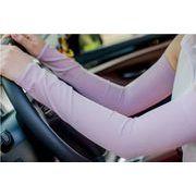 アームカバー UVアームカバー UVカット UV手袋 レディース 紫外線 指穴 スポーツ 運転 ドライブ 7色