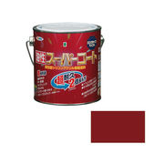 アサヒペン 油性スーパーコート 0.7L ブリックレッド×5セット