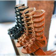 【子供靴】サンダル 可愛いデザイン 女の子 155-220mm 2色 シューズ キッズ靴