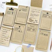格安☆人気文具◆付箋◆ノート◆ポストイット◆伝言メモ◆メモポスト◆アンティーク◆手帳