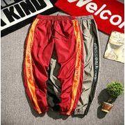秋冬新作メンズパンツ ズボン大きいサイズ おしゃれ シンプル♪グレー/レッド2色
