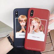 欧米新品 iPhoneXケース Handsome Boy&Lovely Girl 可愛いペア物