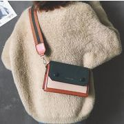 ミニショルダーバッグ 斜めがけカバン 鞄 4色 レザー 人気