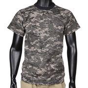 Rothco 半袖Tシャツ ポリエステル混紡 アーバンデジタルカモ
