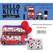 「サンリオ」」Hello Kitty in London ダイカットクッション