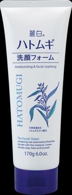 麗白 ハトムギ洗顔フォーム 【 熊野油脂 】 【 洗顔・クレンジング 】