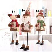 クリスマス 装飾をする 老人 雪だるま トニム 荷を置く マーケット  パーティー 子供 贈り物