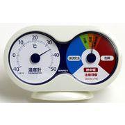 熱中症注意計(温度計+熱中症注意目安)