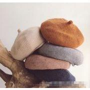 韓国風帽子★新しいスタイル★ベビー帽★キッズ用 ニット帽.