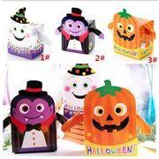 ハロウィン クッキー DIY ビスケットの箱 かぼちゃの幽霊 食品菓子 紙箱の菓子袋 包装箱