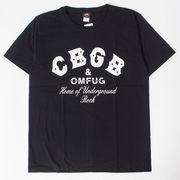 ロックTシャツ CBGB シービージービー