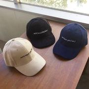 ▼MAGGIO▼ 秋冬にピッタリなスエード素材☆ WORK HARD PLAY HARDキャップ(帽子)