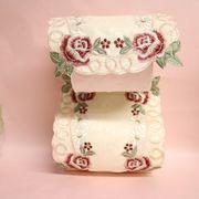トイレットベーパーカバーカット刺繍