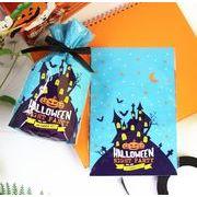 ハロウィン 青い底 お城 指ビスケット 祭りの焙煎食品包装袋プラスチック