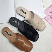 韓国 スタイル ファッション ヴィンテージ 脚長効果が絶大! レディース 靴 シューズ ビーチ サンダル