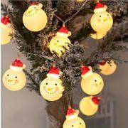 led サンタクロース クリスマス 雪だるまを灯す 電池ランプ 部屋の装飾用品 イルミネーション