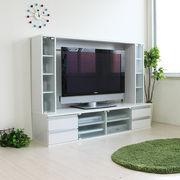 【12/下】◎テレビ台 ゲート型 60インチ 大型テレビ対応 ホワイト JSTV-6036WH