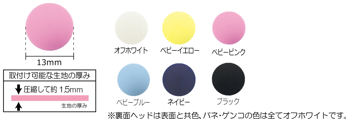 KIYOHARA サンコッコー プラスナップ 13mm 大容量タイプ
